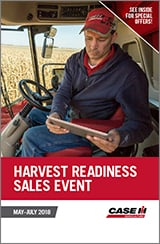 HARVEST READINESS SALES EVENT