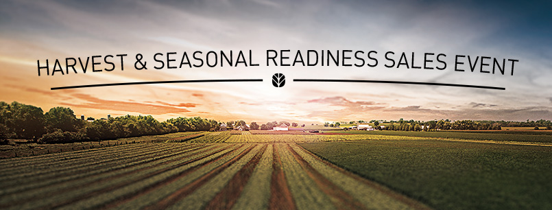 Harvest & Seasonal Readiness Sales Event